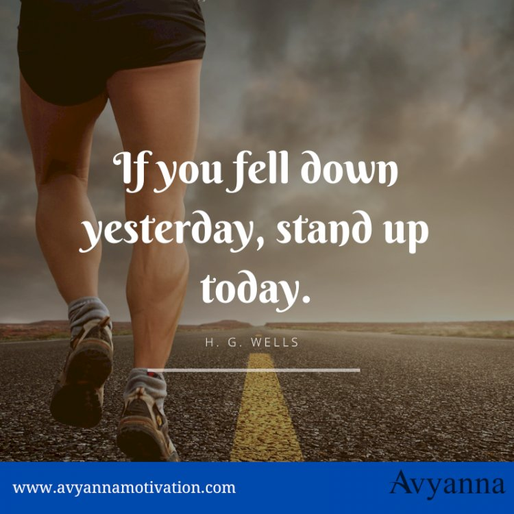 If You Fell Down Yesterday.